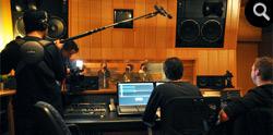 3FM opnames bij Mediasaloon