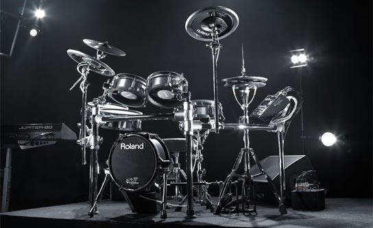 Virtueel drums opnemen