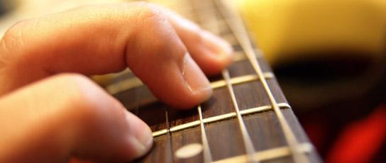 Akkoorden voor de gitaar