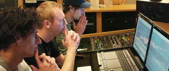 Cursus muziektechnologie in de studio