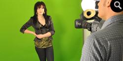 Greenscreen-opnames bij Mediasaloon